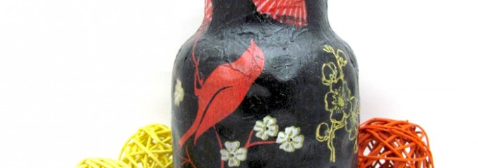 vaza decorata
